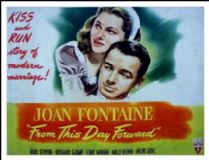 From This Day Forward 1946 DVD - Joan Fontaine / Rosemary DeCamp